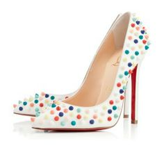 Christian Louboutin Gomme Pigalle With Multicolor Pumps. Get the must-have pumps of this season! These Christian Louboutin Gomme Pigalle With Multicolor Pumps are a top 10 member favorite on Tradesy. Save on yours before they're sold out! Pointed Toe Pumps, High Heel Pumps, Pumps Heels, Stiletto Heels, Peep Toe, Stilettos, Louboutin High Heels, Red Bottom Heels, Christian Louboutin Outlet