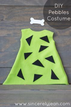 Best DIY Halloween Costume Ideas - diy-pebbles-costume - Do It Yourself Costumes for Women, Men, Teens, Adults and Couples. Fun, Easy, Clever, Cheap and Creative Costumes That Will Win The Contest http://diyjoy.com/best-diy-halloween-costumes