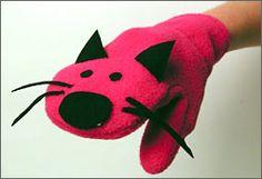 Cat hand puppet, super cute.