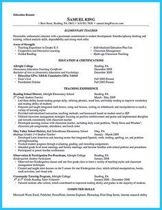 Teacher Assistant Resume Sample - http://jobresumesample.com/617 ...