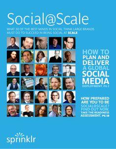 Best Practices for Enterprise Social Media Management by the Social Media Dream Team by Sprinklr