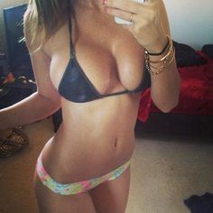 sexy bikini selfie