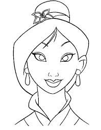 mulan coloring pages google search