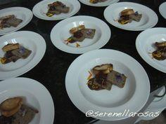 2.- Entrada al tiempo: Terrine de pato amazónico con kumachi y chocolate, de la chef Tamara Rodríguez.