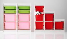 #IKEA Trofast #Storage system for #toys / #school #supplies / #homeschool #workboxes, etc.