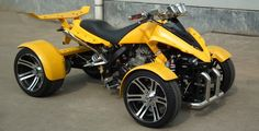 SPYRACING UK MAIN DEALER - ROAD LEGAL QUAD BIKES Custom Street Bikes, Custom Bikes, Custom Cars, Trike Motorcycle, Motorcycle Style, 4 Wheel Bicycle, Sportster Cafe Racer, Reverse Trike, Futuristic Motorcycle