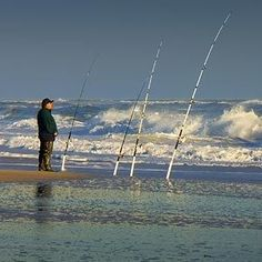 Surf Fishing Tips - Tips on How to Surf Fish #SaltwaterFishingTips