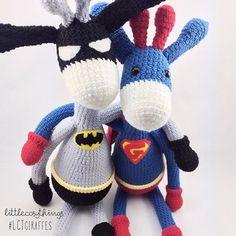 littlecosythings crochet giraffe superheroes