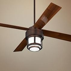 "Casa Vieja Tercel Outdoor Ceiling Fan - 52"" Bronze"