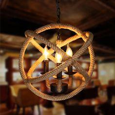 Старинные люстры для дома и кафе Высотные Люстра Свет ретро Bird Cage…