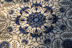 Beautiful lapis inlaid calligraphy