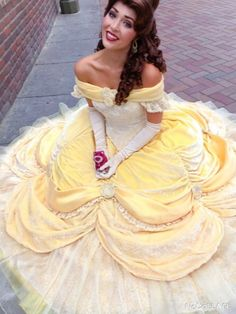 Lotso and belle beauty and the beast Disneyland Princess, Disney Princess Dresses, Belle Cosplay, Disney Cosplay, Disney Cast, Disney Magic, Belle Beauty And The Beast, Disney Face Characters, Quince Dresses