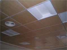 Plafones de madera para mejora la vista interna de tus oficinas http://www.procovers.com.mx/