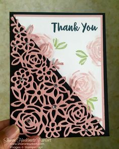 There are so many wonderful new stamp sets in the 2018-19 Stampin' Up! Annual catalog. I was excited to be able to pre-order the Abstract Impressions bundle and it is so gorgeous. Isn't this die cut amazing? This bundle is...