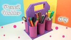 Foam Sheet Pencil Holder - Easy School Supplies - DIY - YouTube