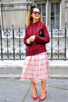 Natalie Joos, Paris Fashion Week | Street Style by Stela