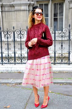 Natalie Joos, Paris Fashion Week | Street Style by Stela
