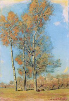 Tree on the Lake of Brienz near Bödeli - Ferdinand Hodler.  Art Experience:NYC  http://www.artexperiencenyc.com/social_login