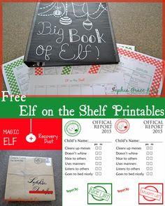 Beginner Elf on the Shelf Printables