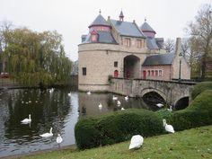 Ezelpoort (Donkey Gate), Bruges, Belgium