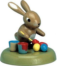 Busy Erzgebirge Easter Bunny