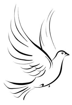 If I ever got a tattoo--this in white ink w/olive branch, on my shoulder. To symbolize, I'm at peace and always new beginnings.