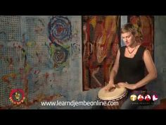 Learn Djembe Online - Djole djembe 1 - YouTube
