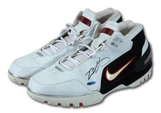 http://SneakersCartel.com Game Worn Nike Air Zoom Generation by LeBron James Available at Auction   #sneakers #shoes #kicks #jordan #lebron #nba #nike #adidas #reebok #airjordan #sneakerhead #fashion #sneakerscartel