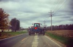 You know you live in the country when...