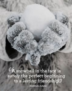 14 Absolutely Beautiful Quotes About Snow   - CountryLiving.com