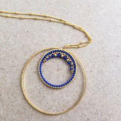 Le produit Sautoir oula-hoop, tissé en perles Miyuki, doré à l'or fin. est vendu par My-French-Touch dans notre boutique Tictail.  Tictail vous permet de créer gratuitement en ligne un shop de toute beauté sur tictail.com