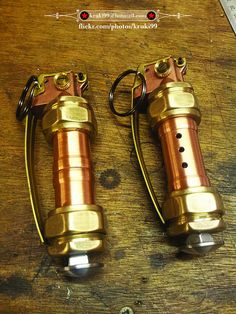 Steampunk grenades 001 (Incapacitation & Obfuscation Devices) | Flickr - Photo Sharing!