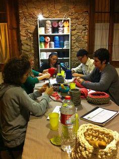 Segundo taller #ganchillo XXL  #santfeliudeguíxols #Girona #costa Brava