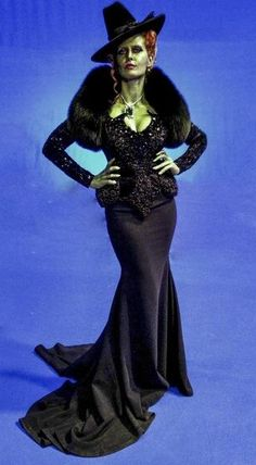 Rebecca Mader as Zelena, the Wicked Witch (of the West) on Once Upon a Time