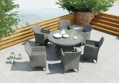 Meble ogrodowe RONDO ø130 Royal - prod. Oltre Outdoor Indoor Design (meble ogrodowe technorattan meble technorattan meble ekskluzywne meble ogrodowe technorattan zestawy ogrodowe z technorattanu meble tarasowe, stół ogrodowy, fotele ogrodowe, krzesła ogrodowe, Garden Space)