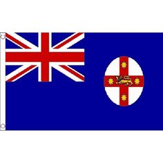 New South Wales South Wales Small Flag 3Ft X 2Ft Australian Australia Banner With 2 Eyelets -- Awesome products selected by Anna Churchill