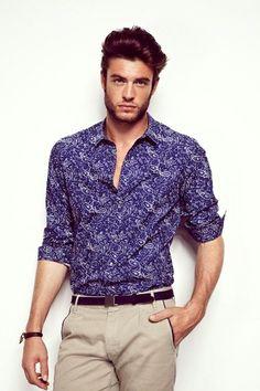 d17a0b83467 Nudie Jeans 2013 Spring Summer Mens Capsule Collection - Brilliant Blues - Denim  Button Down Shirts   Raw Dry Rigid Organic De…