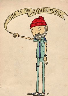 The Life Aquatic. Perhaps this as a tattoo?