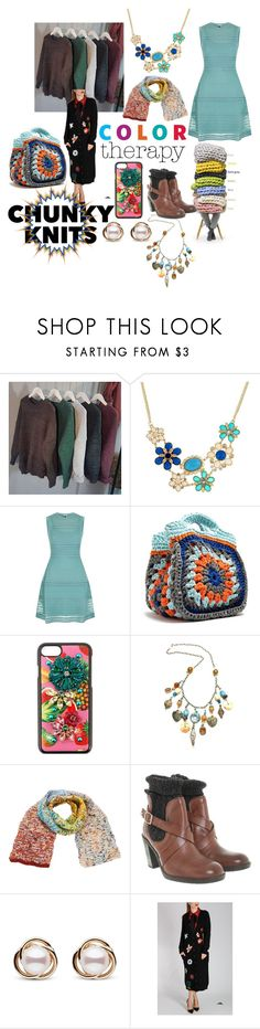 """""""Color Therapy"""" by sallytcrosswell on Polyvore featuring Therapy, M Missoni, My Beachy Side, Dolce&Gabbana, Missoni, Armani Jeans, Trilogy, Valentino and chunkyknits"""