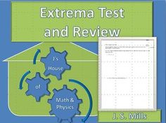 This is both a review worksheet and a Test for regular calculus when studying Extrema (maximums and minimums). Keys for both are included.Students must know these concepts:-Finding extrema via critical points-Finding extrema using the first derivative test-Find points of inflection and concavity-Finding extrema using the second derivative testI also have a other Calculus Answer Hunt activities in my store: Basic Derivative Answer Hunt (free!)Product Rule Answer HuntChain Rule Answer…