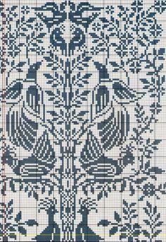 Just Cross Stitch, Cross Stitch Borders, Cross Stitch Samplers, Cross Stitch Charts, Cross Stitching, Cross Stitch Patterns, Folk Embroidery, Cross Stitch Embroidery, Embroidery Patterns