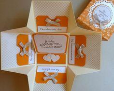 mój pierwszy BOX- ślubny - motto i okrągły stempel  od zawsze życzliwej Jolagg