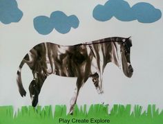 We did this fun Zebra Shaving Cream Marbling art project/craft as part of our Color of the Week Exploration . The Color of ...