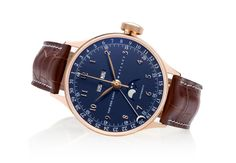 The 34mm 20031 triple date calendar with moon phase, from the ladies collection.