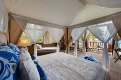 Villa Voyage on Nusa Lembongan island Look at that bed!