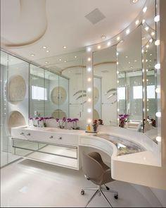 Mansion Interior, Dream House Interior, Luxury Homes Dream Houses, Dream Home Design, Modern House Design, Home Interior Design, Dream Bathrooms, Dream Rooms, Beauty Room Decor