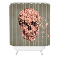 Terry Fan Reincarnate Shower Curtain | DENY Designs Home Accessories