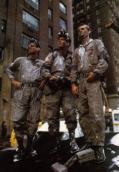 R.I.P. Harold Ramis Thank you for Ghostbusters and so many other great movies that mad us laugh!