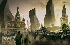 ArtStation - Moscow 2029., Nivanh Chanthara