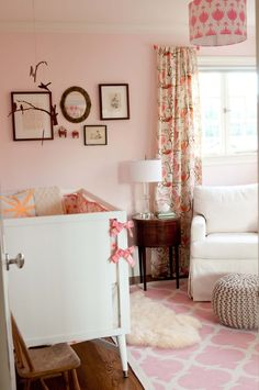 Light Pink Nursery for Baby Girl - #projectnursery